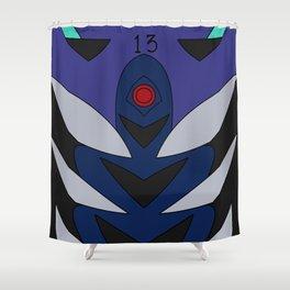 Kaworu Rebuild Plugsuit Shower Curtain