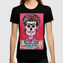 FRIDA Sugar Skull 2014 T-shirt