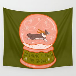 Dashing Through the Snow Wall Tapestry