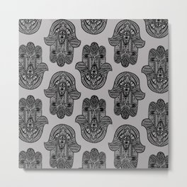 HAMSA PRINT Metal Print