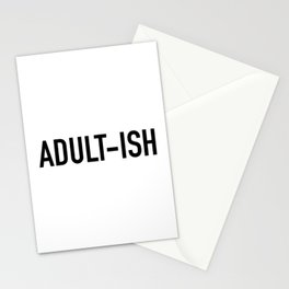 Adult-ish Stationery Cards
