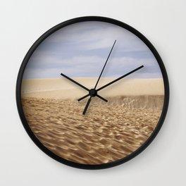 Dramatic Sand Dunes Wall Clock