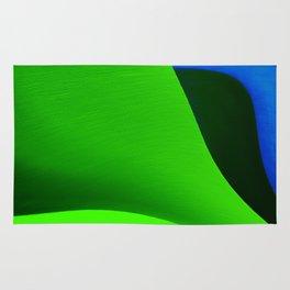 Green Taking Shape Rug