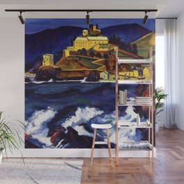 Cinque Terre, Italy Convent von Monterosso al Mare by Hermann Max Pechstein Wall Mural