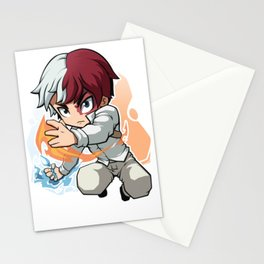 Todoroki shoto Stationery Cards