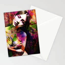 Thoughtful Woman 2 Stationery Cards