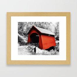 Yachats Oregon - Yachats Bridge Framed Art Print