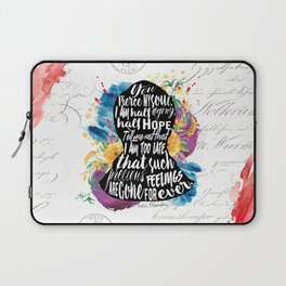 Persuasion - You Pierce My Soul Laptop Sleeve
