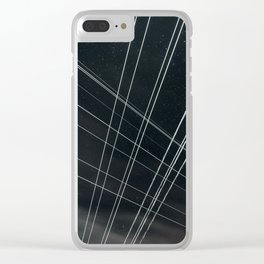 High Voltage Intersection Clear iPhone Case
