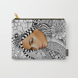 Tangled Face Carry-All Pouch