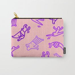 Dance In Your (Purple) Pants Carry-All Pouch