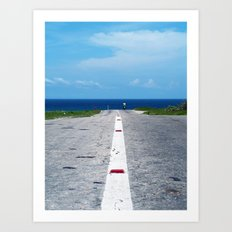 My Way Art Print