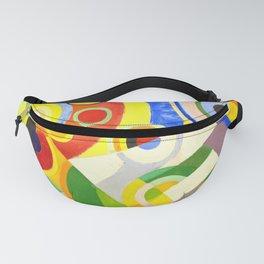 Robert Delaunay - Rythme, Joie de vivre - Abstract Colorful Art Fanny Pack