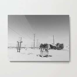 UMBRELLA / Desert Hot Springs, California Metal Print