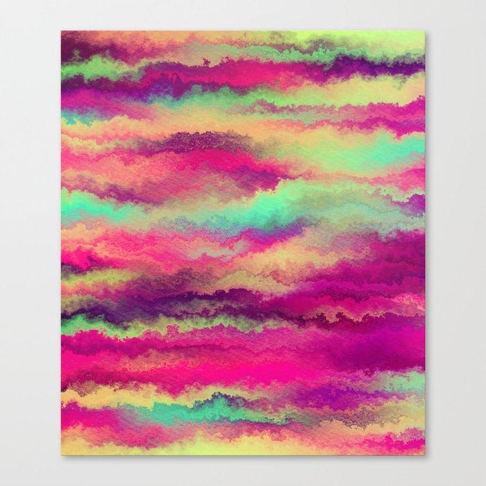 Painted Rainbows 6 Canvas Print