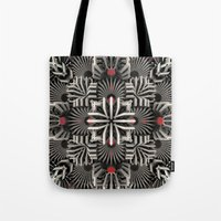 matrix Tote Bags featuring Calaabachti Matrix by Obvious Warrior