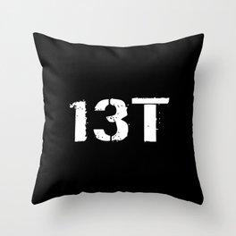 13T Field Artillery Surveyor/Meteorological Crewme Throw Pillow