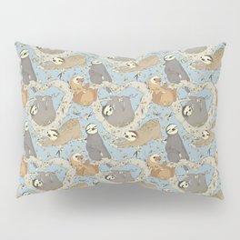 Sloths and Vanilla Pillow Sham