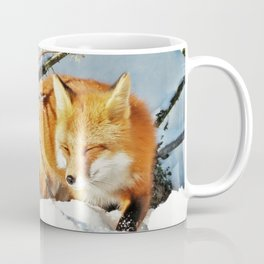 Algonquin Red Fox in the Snow Coffee Mug
