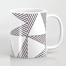 Audrey and Frank - Modern Envelopes (Pink) Coffee Mug