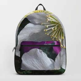 White Clematis Backpack