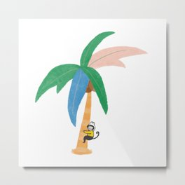Let's play with palm trees Metal Print