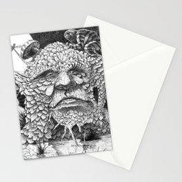 TREE FACE 01 Stationery Cards