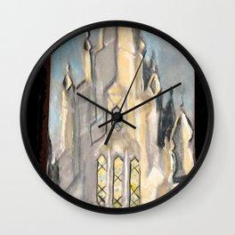 San Diego,CA LDS Temple Tie Wall Clock