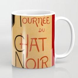 La tournée du Chat Noir  (The Black Cat show) Coffee Mug