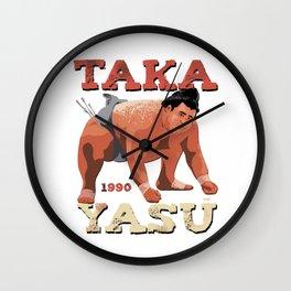 """Sumo Wrestler """"Takayasu"""" Rikishi 髙安 晃 Wall Clock"""