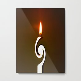 CANDLE LIGHT Metal Print