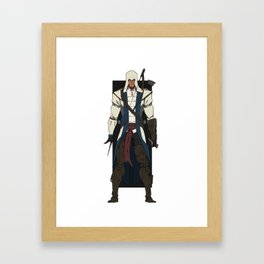 Ratonhnhaké:ton Framed Art Print