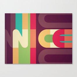 Nice Colour Pattern Canvas Print