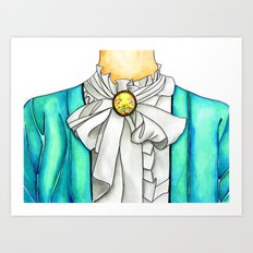 Dressed Up Art Print