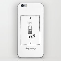 Keep Creating iPhone & iPod Skin