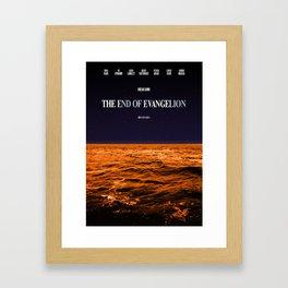 Movie Poster: The End of Evangelion Framed Art Print