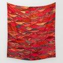 V35 Red Traditional Moroccan Artwork Pattern by mr0frankenstein