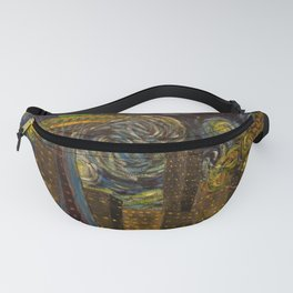 Seattle Starry Night Fanny Pack