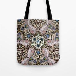 A Natural Mosaic Tote Bag