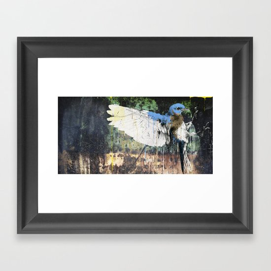 Woodpecker Framed Art Print