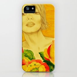 Flowers serie iPhone Case