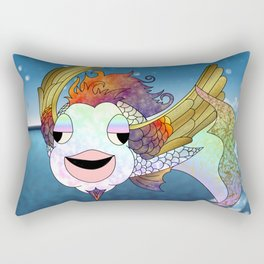 Flying Bahamut Rectangular Pillow