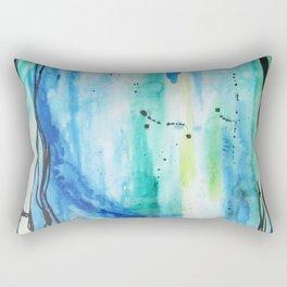 Ocean Vertical (where earth meets sky) Rectangular Pillow