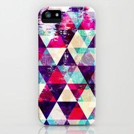 "Retro Geometrical Abstract Design ""Josephine"" inspired iPhone Case"