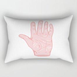 Palm Reader's Guide Rectangular Pillow