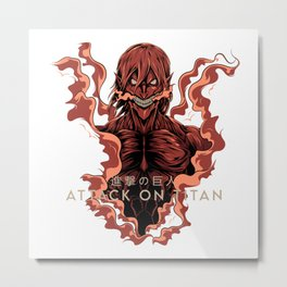 AOT- Founding Titan Metal Print