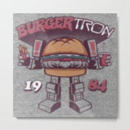 Burger Tron Metal Print