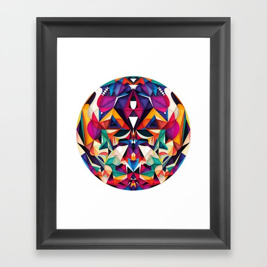 Emotion in Motion Framed Art Print