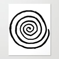 fibonacci Canvas Prints featuring Fibonacci by Geryes