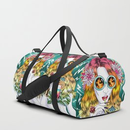 Beach Frenzy Duffle Bag
